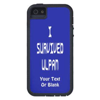 I Survived Ulpan iPhone 5 Case