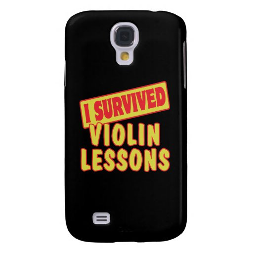 I SURVIVED VIOLIN LESSONS SAMSUNG GALAXY S4 COVER