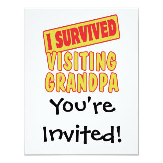 I SURVIVED VISITING GRANDPA CARD