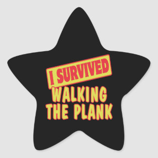 I SURVIVED WALKING THE PLANK STICKER