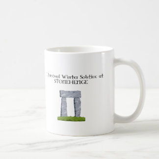 I Survived Winter Solstice at Stonehenge Coffee Mug