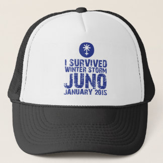 I survived Winter Storm Juno January 2015 Trucker Hat