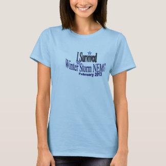 I Survived Winter Storm NEMO 2013 Shirt