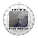 I Survived Winter Storm Nemo (NASA Outer Space) Dart Boards