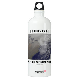 I Survived Winter Storm Nemo (NASA Outer Space) SIGG Traveler 1.0L Water Bottle