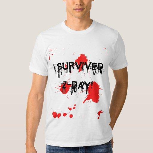 I survived Z-Day Shirts