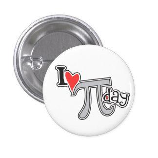 I Swag del símbolo del botón pi del día del Pin Redondo De 1 Pulgada
