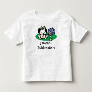 I swear I didn't do it - infant/toddler t-shirt