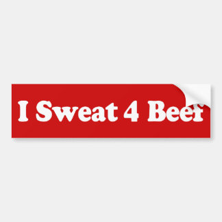I Sweat 4 Beef Dark Bumper Sticker