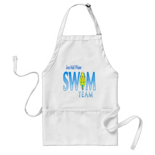 I Swim Adult Apron