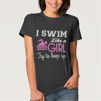 I Swim Like a Girl Shirt