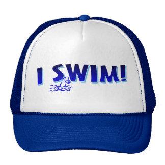 I Swim Trucker Hat