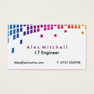 I.T Engineer Business Card