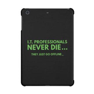I.T. Professionals Never Die iPad Mini Covers