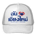 I ❤ Tailandia de Chiang Mai del corazón (amor) Gorra