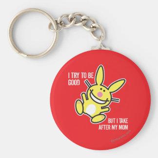 I Take After My Mom Basic Round Button Keychain