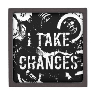 i take chances.  Feel Good.Tell the World. Jewelry Box