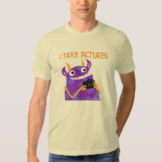I Take Pictures -- shirts