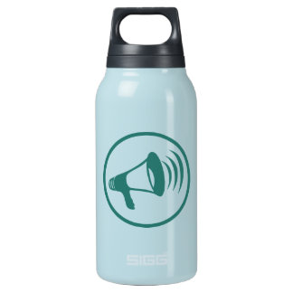 I talk science insulated water bottle