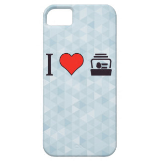 I tarjetas de visita del corazón iPhone 5 fundas
