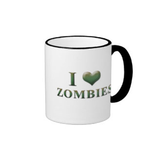 I taza 0001 de los zombis del corazón