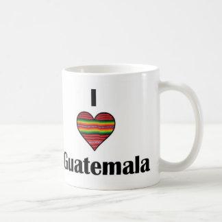 I taza de Guatemala del corazón