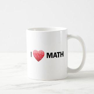 I taza de la matemáticas del corazón