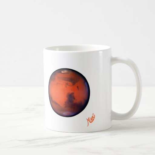 I taza de Marte del corazón -- Tono dos -- 15oz.