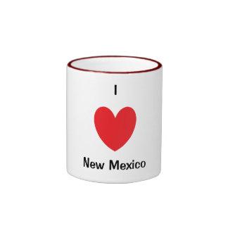 I taza de New México del corazón