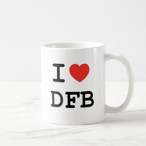 I taza del corazón DFB