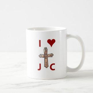 I taza del corazón J C