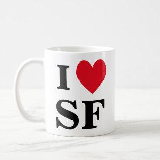 I taza del corazón SF