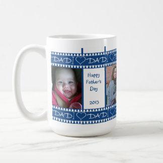 I taza del regalo del papá del corazón