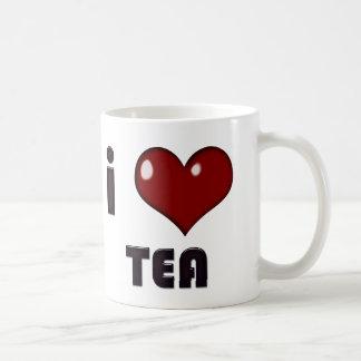 I taza del té del corazón
