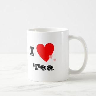 I taza del té del corazón (amor)
