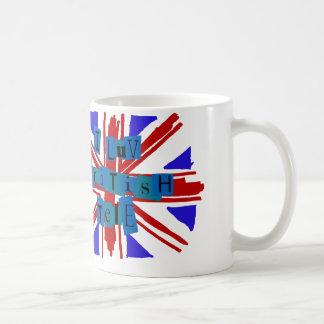 I taza tele británica de Luv