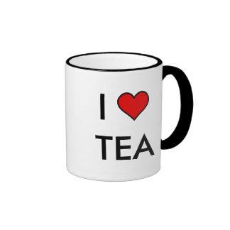 I té del corazón taza