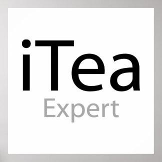 i Tea Expert Posters