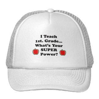 I teach 1st. Grade Mesh Hat