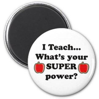 I teach 2 inch round magnet