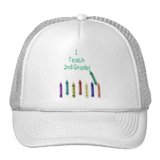 I Teach 2nd Mesh Hat