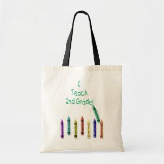 I Teach 2nd Tote Bags