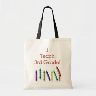 I Teach 3rd Grade Bags