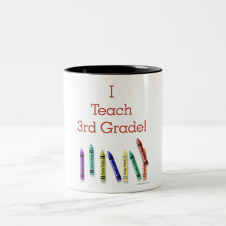 I Teach 3rd Grade Coffee Mugs