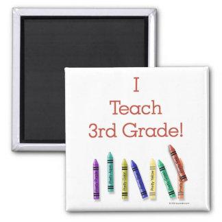 I Teach 3rd Grade Fridge Magnets