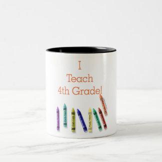 I Teach 4th Grade! Coffee Mugs