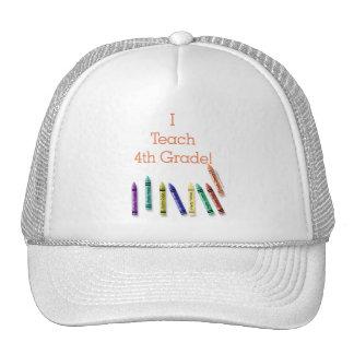 I Teach 4th Grade! Trucker Hat