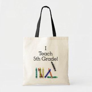 I Teach 5th Bags
