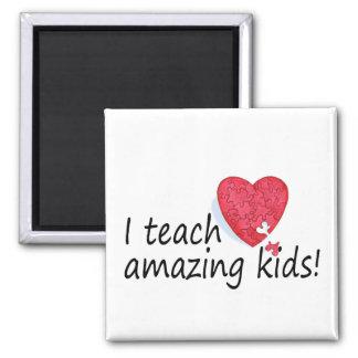 I Teach Amazing Kids Fridge Magnets