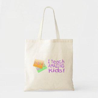 I Teach Amazing Kids (Numbers) Tote Bag